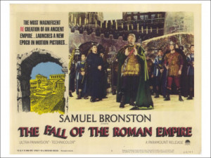 The Fall of the Roman Empire 1964