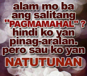 Best Sweet and Cheesy Tagalog Love Quotes Collections For you :