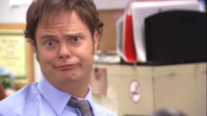 the office dwight rainn wilson john krasinski Jim Halpert jim Dwight ...