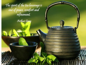 An inspiring cup- Quotations about Tea