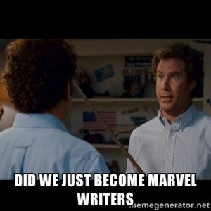 Step Brothers Best friends - Did we just become marvel writers