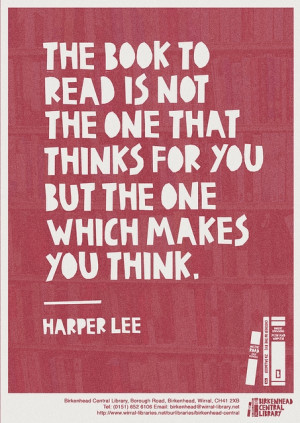 Harper Lee quote in Quotes & other things