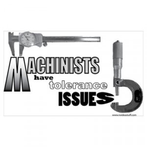 CafePress > Wall Art > Posters > - machinist Poster