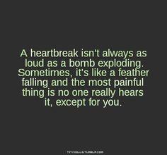 QUOTES: Heartache & overcoming it