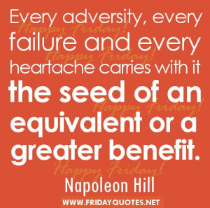 Uplifting Quotes for Friday by Napoleon Hill