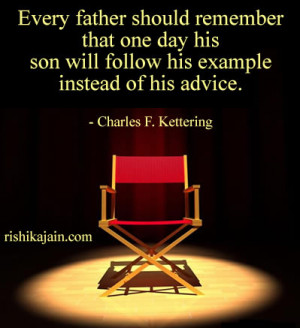 ,son,Charles F. Kettering,Parents-Children / Inspirational Quotes ...