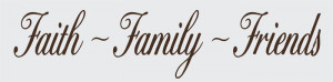 ... Family Friends Vinyl Wall Design Family And Friends Quotes And Sayings