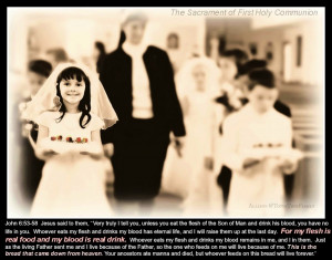 Come to Jesus...and LIVE. (First Holy Communion music video)