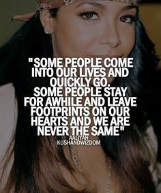 Aaliyah./Quotes. ♥