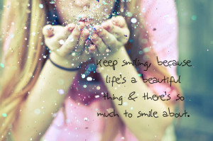 smile quotes | Tumblr | We Heart It