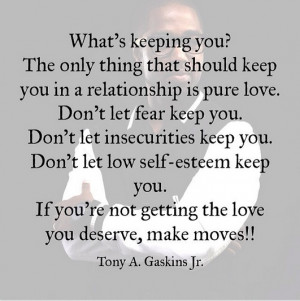 Tony A Gaskins Jr quotes 6