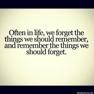 Remembering the Wrong Things