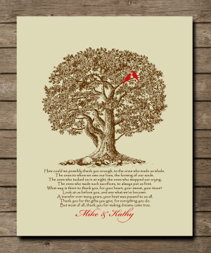 ... You Mom And Dad Quotes From Daughter Wedding gift for parents from
