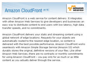 requested feature for Amazon CloudFront. — Jeff;