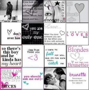 Cute Crush Love Quotes