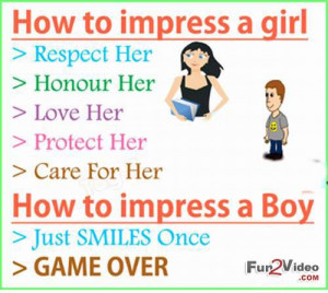 How to impress a girl tips and ways to impress a girl which smile you ...