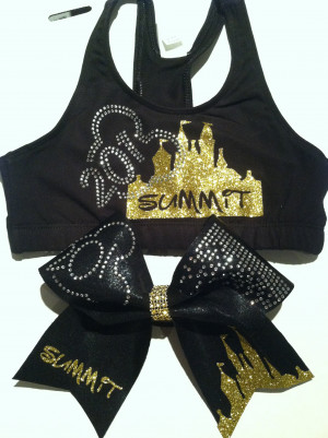 Summit Cheer Sports Bra