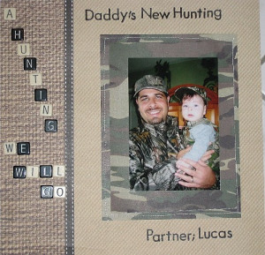 Father And Son Scrapbook Layouts