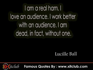 Lucille Ball Famous Quotes