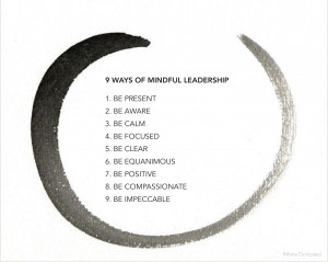 be a mindful leader leadership mindful business practices mindful ...