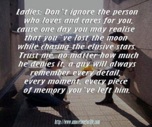 Moon Quotes For Him ~ Loosing Moon While Counting Stars Quotes