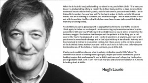 ... almost wanted once to publish a self help book…' – Stephen Fry