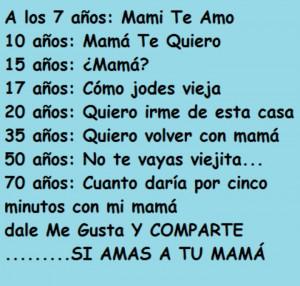 , Te Amo, Bella Frases, Mamá Te, Phrases, Favorite Quotes, Spanish ...