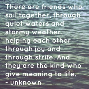 Art » Water Picture With Quotes And Sayings » Sail Together Quote ...