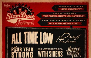 Slam Dunk Festival 2013 lineup includes: All Time Low, Pierce The Veil ...