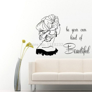 Wall Vinyl Decal Hair Salon wall sticker Girl Quotes Beauty HAir Shop ...
