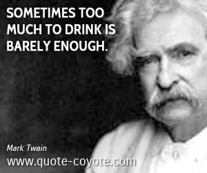 mark twain funny quotes go to heaven for the climate hell for the jpg ...