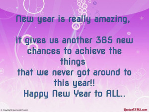 New year is really amazing, it gives us...