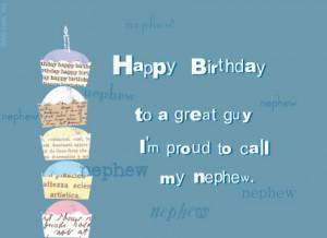 Happy Birthday Great Nephew Happy Birthday Nephew