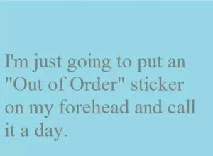 We all have one of those days!