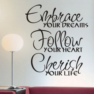 beautiful quotes of support bedroom wall design with quote quotes ...
