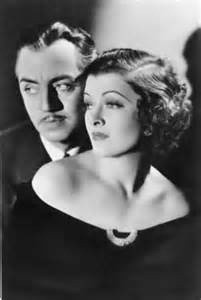 nick and nora - Myrna Loy and William Powell