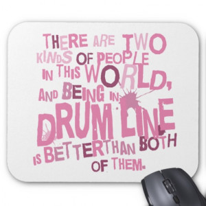 Drumline Funny Gift Mouse Pads