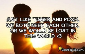 Tigger Quotes Tumblr Just like tigger and pooh,