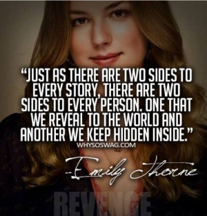 Just as there are two sides to every story, there are two sidesto ...