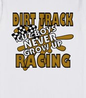 Dirt Track racing - Cool dirt track racing shirts for boys that have a ...