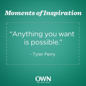 Anything you want is possible.