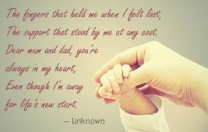daughter missing parents quote