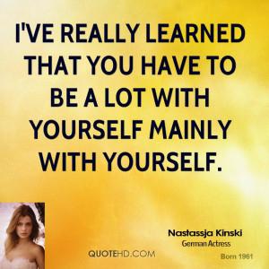 Nastassja Kinski Quotes