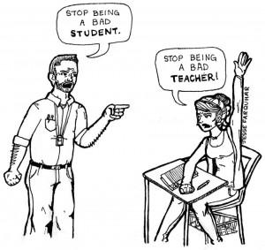 Call for a better student, teacher relationship