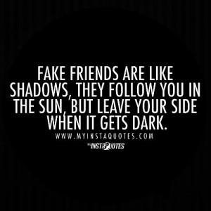 True friend and fake friends