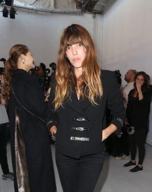 Lou Doillon son style casual rock de fashion week