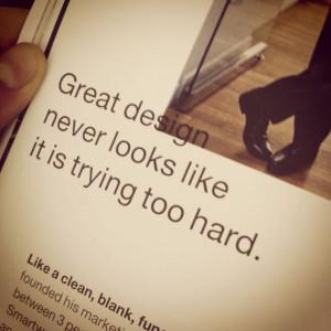 Great design #quotes