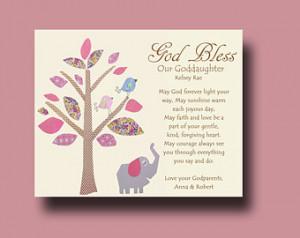 gift Gift for Goddaughter Personalized gift for Goddaughter Gift