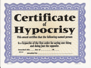 quotes about hypocrisy friends