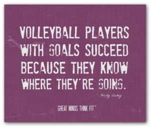 Volleyball Success Quote